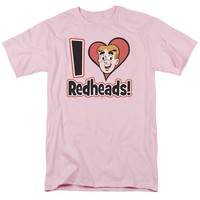 Archie Comics - I Love Redheads Short Sleeve Adult 18/1