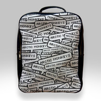 Backpack for Student - Arctic Monkeys Logo Collage Bags