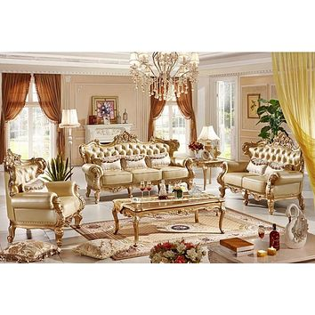 Antique Luxurious Italian Furniture Classic Sofa Set