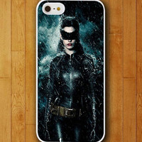 Customized Phone Case Batman and Batwomen in the Middle of Rain Cool Couple Case for iphone 4 4s 5 5s 5c 6 6 plus mobile cover