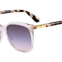 Kate Spade - Caylin S Pink Sunglasses / Blue Gradient Lenses