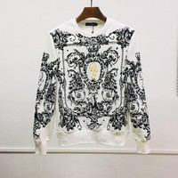 D&G Dolce & Gabbana Men Fashion Long sleeve T-Shirt Top Tee