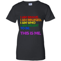 This is Me Inspirational LGBT Pride T-Shirt