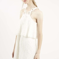 Dream Catcher Overlay Dress - Topshop