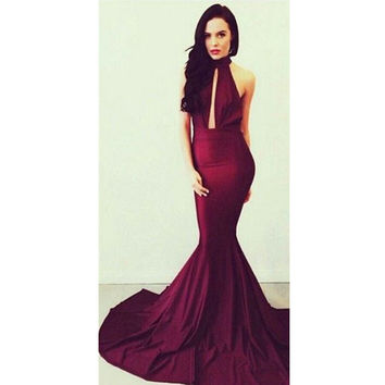 Mermaid Evening Dress Party Gown pst0560