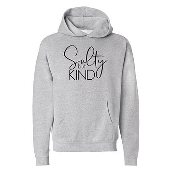 Salty But Kind Pullover Hoodie