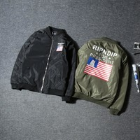 Hot Deal On Sale Sports Couple Windbreaker Jacket Baseball [9448823687]