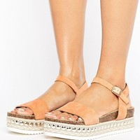 Faith Joss Espadrille Flatform Sandals at asos.com