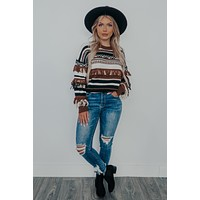All That You Need Sweater: Multi