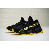 OFF-White Speed stretch-knit Sock Trainer OF8524-05 Size 36-44