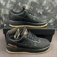 Morechoice Tuhz Nike Air Force 1 Low Gtx Black Sneakers Casual Skaet Shoes Ck2630-001