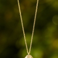 Times Gone By Necklace-Clear