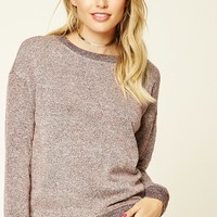 Contemporary Marled Pullover