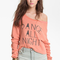 Project Social T 'Dance All Night' Graphic Sweatshirt (Juniors) | Nordstrom