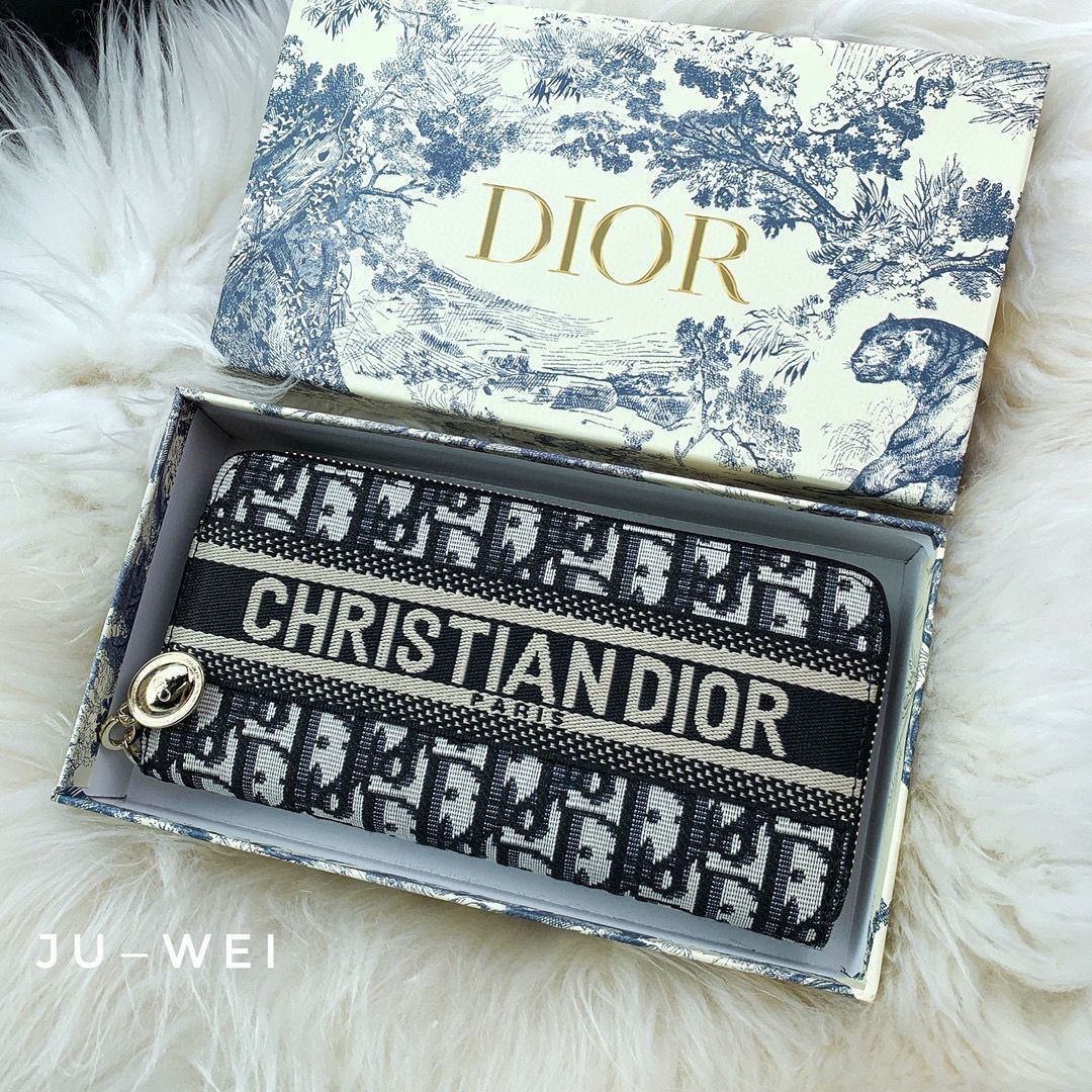 Image of Dior Long Wallet Casual Fashion Clutch bag