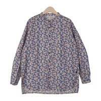 Floral Print On Checkered Shirt by Stylenanda
