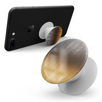 Scratched Gold and Silver Surface - Skin Kit for Pop Sockets and other Smartphone Extendable Grips & Stands