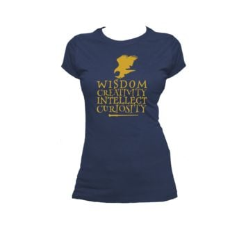 Ravenclaw Qualities Ladies or Mens T Shirt,Harry Potter,Hogwarts,Nerd Girl Tees,Geek Chic