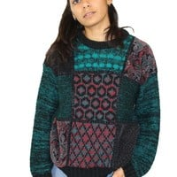 Vintage Jolly Holly Sweater