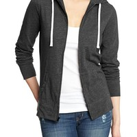 Women's Lightweight Zip-Front Hoodies