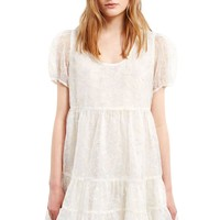 sequin embroidered babydoll dress - Google Search