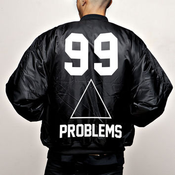 "JAY-Z 99 PROBLEMS ""BOMBER"" LIMITED EDITION 
