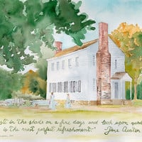 Custom Watercolor Painting from Your Favorite Photo - Painting from Vacation Photo