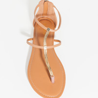 Caleb-31 Barely There Chain Sandal
