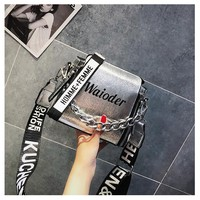 Chain Bag Female Fashion Shoulder Bag Shoulder Bag Messenger Bag Saddle Bag