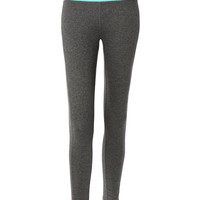 LE3NO Womens Fitted Mid Rise Workout Tights Ankle Length Yoga Pants (CLEARANCE)