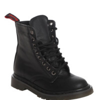 Demonia By Pleaser Black Licorice Lace-Up Boots