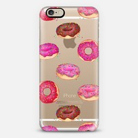 Delicious Donuts - on shine through transparent iPhone 6 case by Perrin Le Feuvre   Casetify