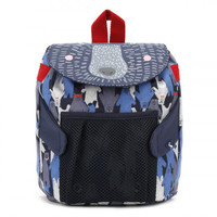 Joules Black Multi Bear Camo Buddie Bag