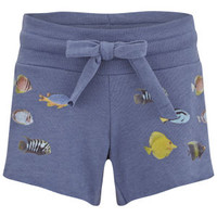 Wildfox Women's Fishes The Cutie Shorts - Night Run Womens Clothing - Free UK Delivery over £50