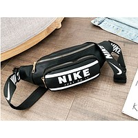 NIKE x ADIDAS x GUESS stylish casual bag for men and women hot seller of different color letter Fanny packs Black NIKE