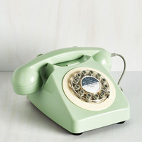 Pastel Ring True Desk Phone in Sea Green by ModCloth