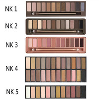 nake 3 original color 12 color eye shadow eye nude makeup bare earth color eyeshadow naked palette NAKED3 Cosmetic