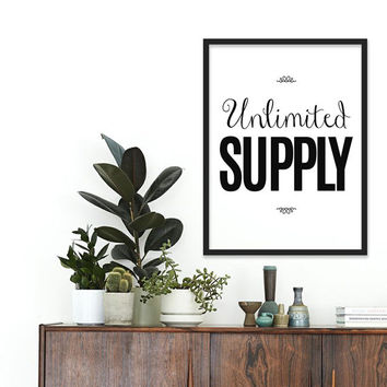 Happy Inspirational quote Motivational gift Jesus Christian Art Poster Black and white art Typography poster Fashion Art gallery wall poster