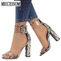 Women Summer T-stage Fashion Dancing High Heel Sandals Sexy Stiletto Party Wedding Shoes