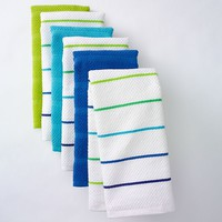 The Big One Woven Stripe 6-pk. Kitchen Towels