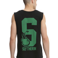 Harry Potter Slytherin Crest Muscle T-Shirt