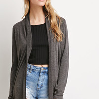 Heathered Longline Cardigan