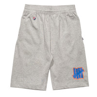 Undefeated 5 Strike Jersey Short In Grey Heather