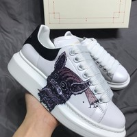 Alexander McQueen  Women Men 2020 New Fashion Casual Shoes Sneaker Sport Running Shoes