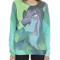 Disney The Lion King Scar Girls Pullover Top