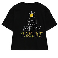 Sunshine Embroidery T-shirt