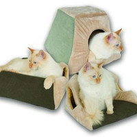 Thermo Kitty Cabin Heated Cat Bed