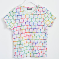 90s Psychedelic Flower Baby T