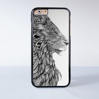 """Lion plastic phone case for iPhone 6 (4.7"""")  More case style can be selected"""
