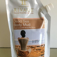 Body Mud Mask Natural From Dead Sea Minerals(17.6 Oz) From Rivage